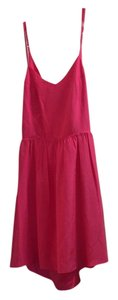 Parker short dress Pink on Tradesy