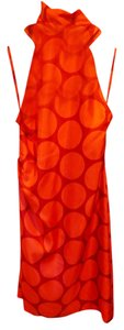 NEW YORK INDUSTRIES Silk Halter Polka Dot Nwt Dress