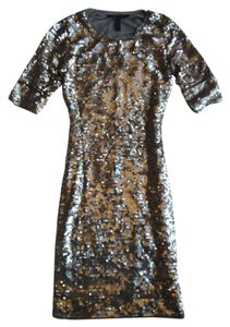 BCBGMAXAZRIA Sequin Night Out Dress