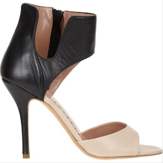 Jean-Michel Cazabat Tan/Black Sandals