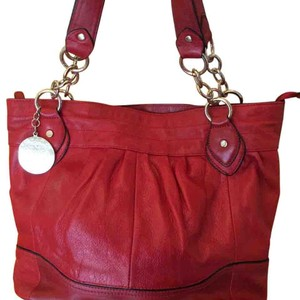 Solina Satchel in Red