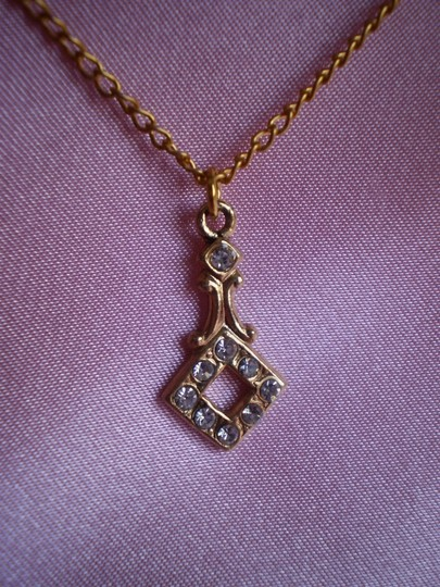 Other Like new Vintage Goldtone w/crystals