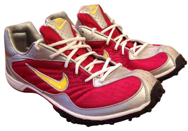 Item - Red/Silver/Yellow/Black/White 030810 Sneakers Size US 7.5 Regular (M, B)