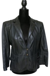 Roberto Cavalli Just Cavalli Leather Leather Cavalli Leather black Leather Jacket