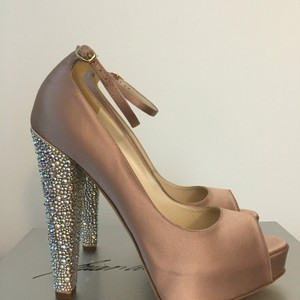 Brian Atwood Martina Strass Toriamos pink Pumps