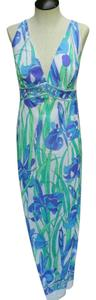 Emilio Pucci Formfit Rodgers Maxi Vintage Night Gown Dress