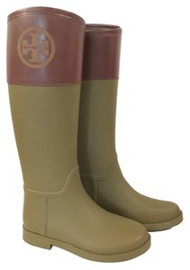 Tory Burch Olive/Almond Boots