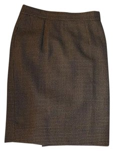 Burberry Skirt Brown plaid
