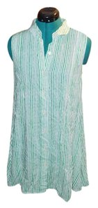 Anthropologie Beachy Nautical Striped Tunic