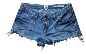 Salt Works Cut Off Shorts Denim