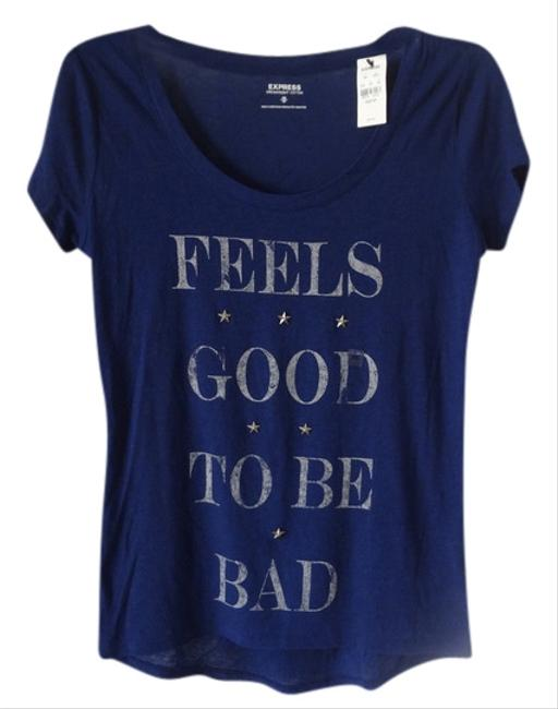 Express T Shirt NEW Blue