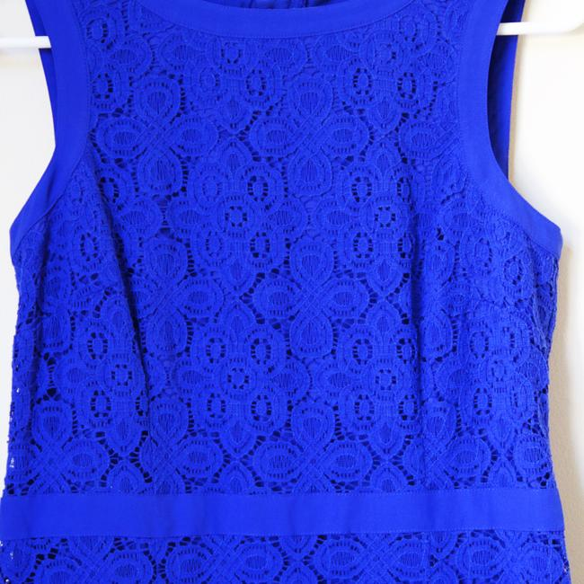 Ann Taylor short dress Blue on Tradesy