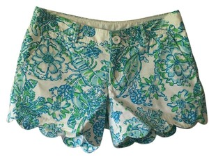 Lilly Pulitzer Mini/Short Shorts Blue/green