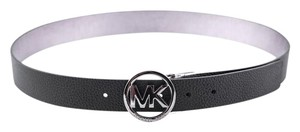 Michael Kors * Women's Leather Belt Reversible Black/Brown Size M