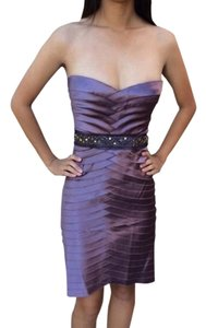 BCBGMAXAZRIA Bcbg Layered Strapless Embellished Dress