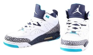 Air Jordan Nike Retro Blue/White Mens White/Blue Athletic