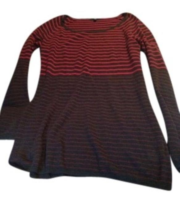 Preload https://item5.tradesy.com/images/gap-burgundy-and-dark-grey-medium-striped-shirt-or-dress-from-the-tunic-size-8-m-153259-0-0.jpg?width=400&height=650