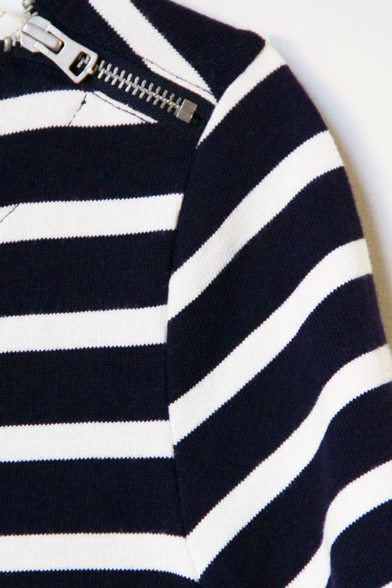 Gap short dress Navy Stripe on Tradesy