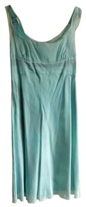 Prada short dress Aquamarine Empire Waist on Tradesy