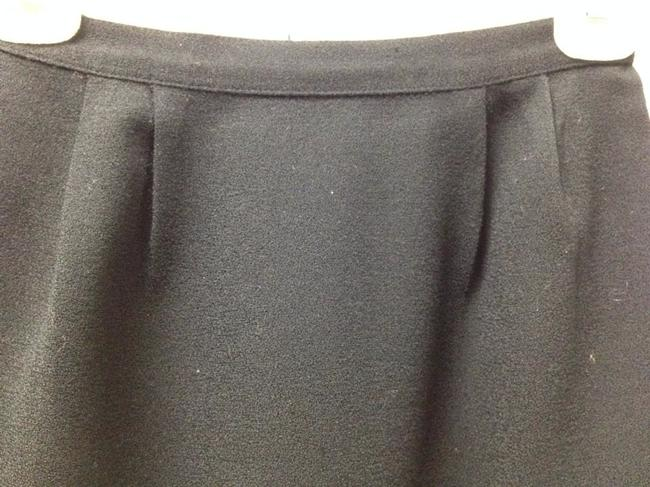 Unknown Pencil Chic Basic Small Mini Skirt black