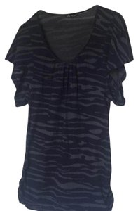 Ella Moss T Shirt Navy blue and gray