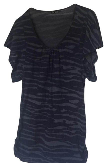 Item - Navy Blue and Gray Et518593 Tee Shirt Size 10 (M)
