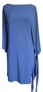 Abi Ferrin short dress Navy 5 Way Versatile Jersey on Tradesy