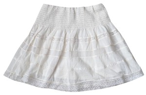 Polo Ralph Lauren Mini Skirt White