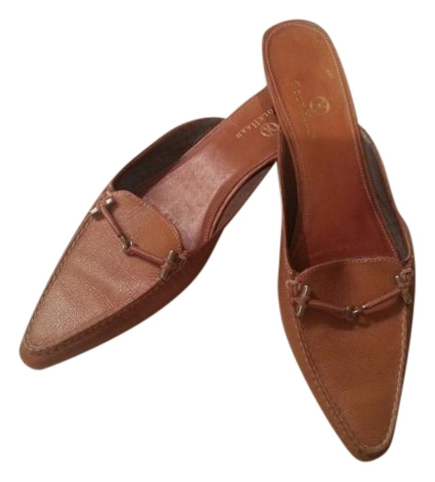 WOMEN Cole Haan purchase Tan Leather Mules/Slides special purchase Haan 0ac9e6
