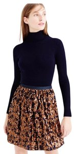 J.Crew Skirt Navy and Copper