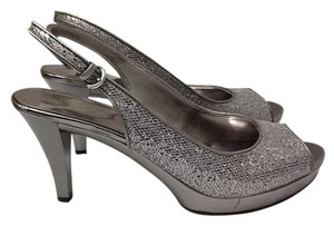 Nine West Party Silver Pumps