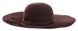 Bottega Veneta Brown Lapin Sun Hat