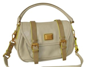 Marc by Marc Jacobs Tote Satchel Louis Grey Messenger Bag