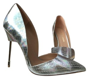 Kurt Geiger London Silver Pumps
