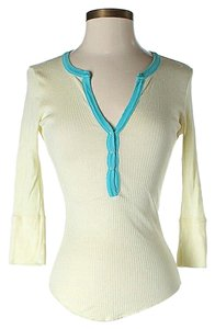 Joie Ribbed 3/4 Sleeves Tunic