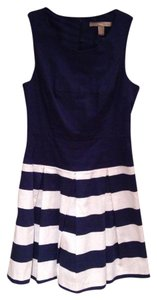 Forever 21 short dress Navy Blue/White on Tradesy