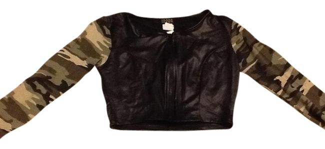 Preload https://item3.tradesy.com/images/joyce-leslie-black-faux-leather-body-and-military-sleeve-night-out-top-size-4-s-1532822-0-0.jpg?width=400&height=650