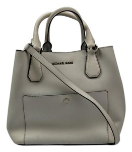 Michael Kors Greenwich Satchel in White