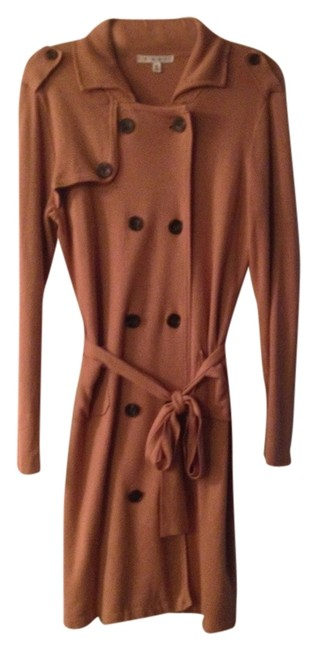 CAbi Double Breasted Soft Stretch French Trench Trench Medium Clothing Dressy Cute Trench Coat