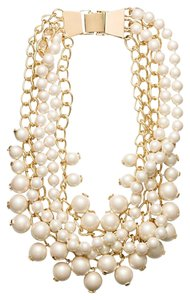 Kate Spade Kate Spade New York Purely Pearly Statement gold plated Necklace