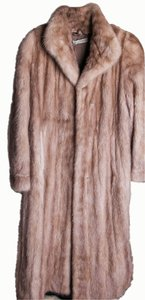 Swiss Styling Tan/brown Mink Coat