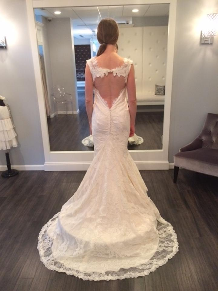 Marisa Bridal Ivory Alencon Lace Style 127 Feminine Wedding Dress ...