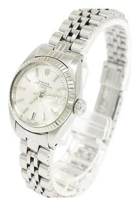 Rolex Rolex Oyster Perpetual Datejust White Gold Stainless Steel Watch