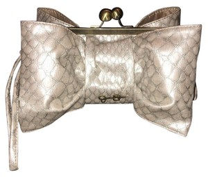 Jessica Simpson Taupe-slated Clutch