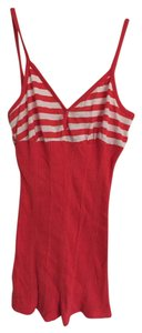 Timing Striped Top Red