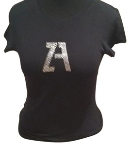 Zara T Shirt BLACK