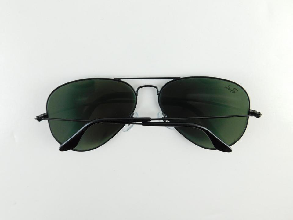 5a9fb3ad3 ... sunglasses rb3025 195a4 c2930; switzerland ray ban black gently used  3025 l2823 aviator large metal full frame made in italy