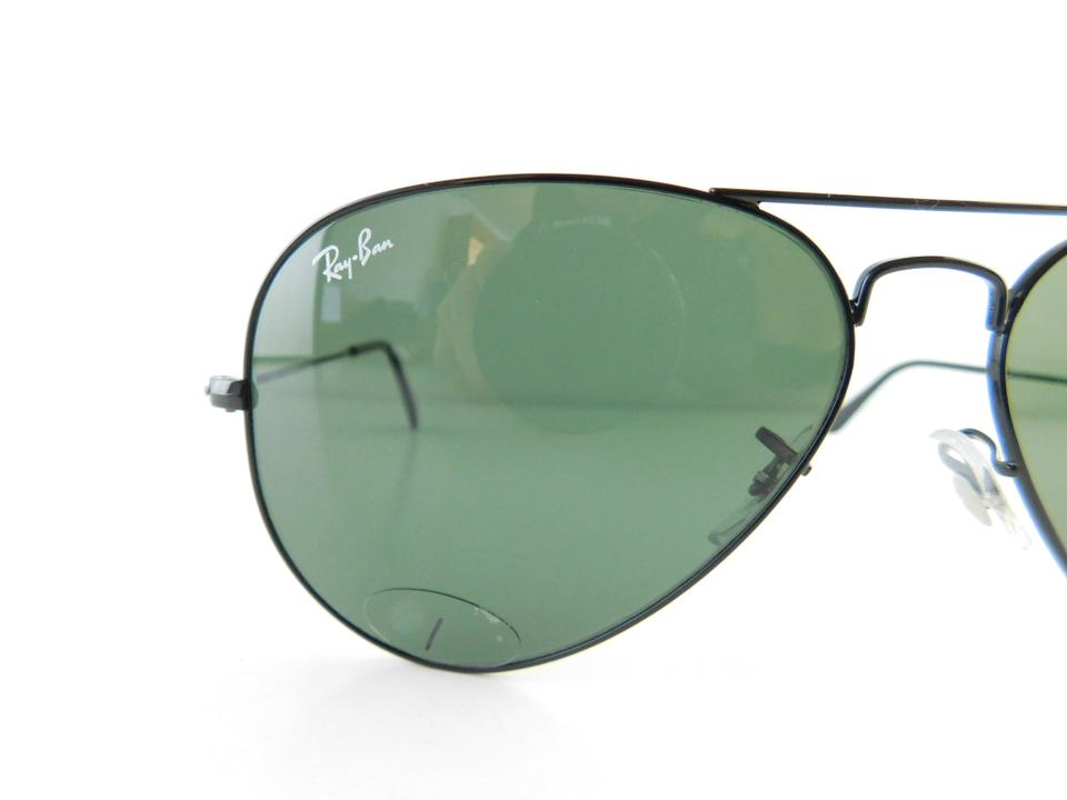 ed79158f3 ... switzerland ray ban black gently used 3025 l2823 aviator large metal  full frame made in italy