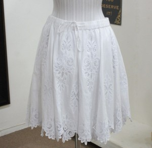 Ralph Lauren Black Label Eyelet Lace Skirt Whites