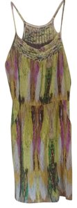 Charlie jade short dress Green lilac multi on Tradesy